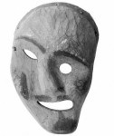 Inuit mask, incannily similar to Spike's jovial, elastic face. . Source: Wellcome Images.