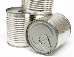 three tins