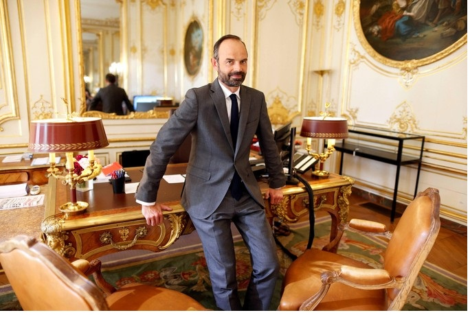 Edouard Philippe, new French Prime Minister and amateur boxer (he is also a Norman)